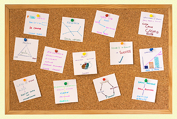 business corkboard